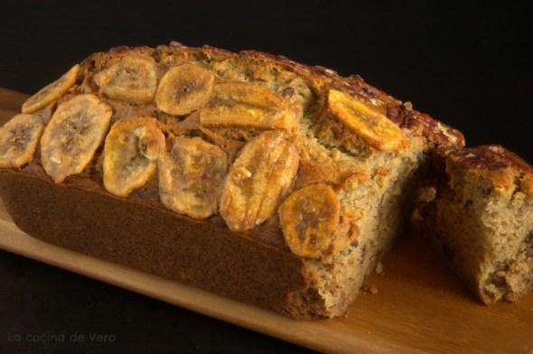 pan de platano y nueces