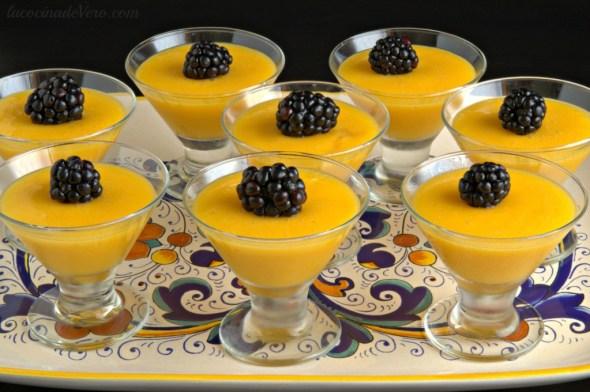 gelatinas de mango