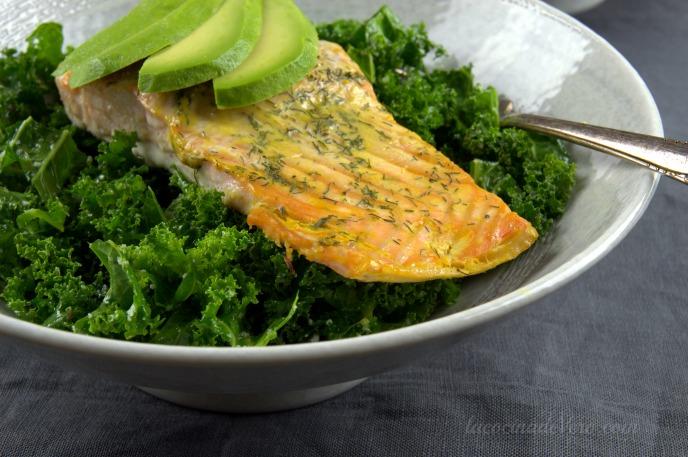 Cómo preparar ensalada de kale
