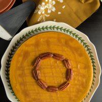 Cheesecake de calabaza para Thanksgiving
