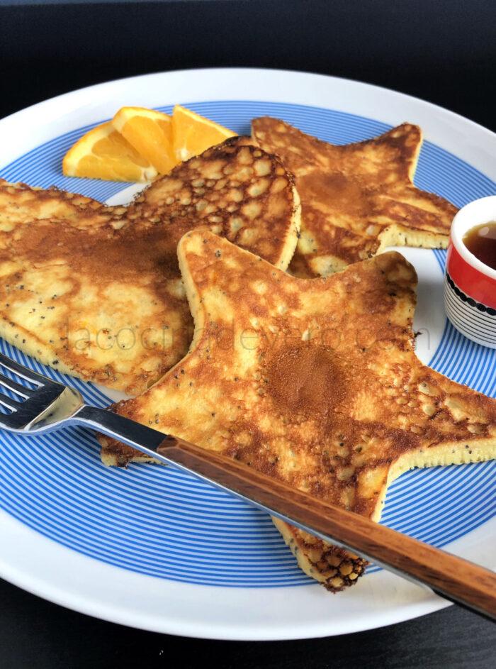 Pancakes de naranja / Orange Pancakes