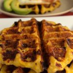 waffles de platano