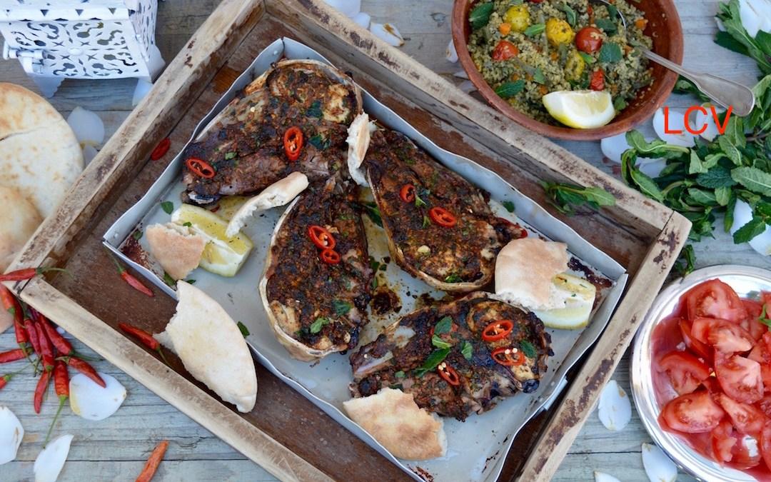 Moroccan baked lamb head la cocina es vida - Cordero estilo marroqui ...