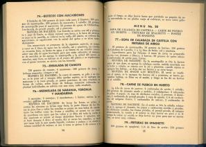 Diciembre (31 Menus Economicos) by Josefina Velázquez de León. UTSA Libraries Special Collections.