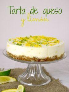 Tarta de queso y limón 01