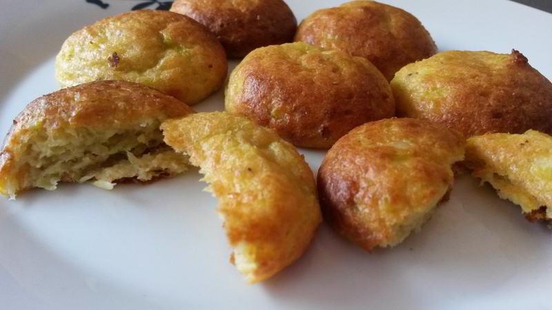 Croquetas de calabacín y queso - Crocchette di zucchine e formaggio