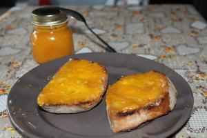 mermelada de clementina y jengibre