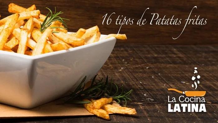 Guia de las Patatas Fritas – 16 tipos de Patatas Fritas