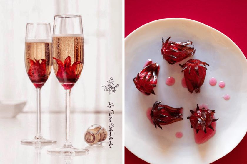 Flor de hibisco en almíbar de miel - La Cocina Ortomolecular