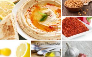 Hummus clásico de garbanzos-La Cocina Ortomolecular