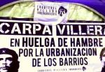 carpa villera cartel