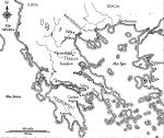 grecia mapa antiguo