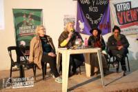 panel mujeres contaminacion