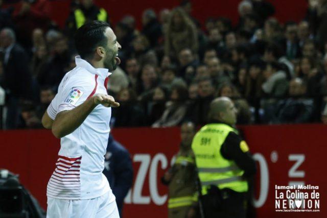 Rami celebra el gol marcado ante el Betis |Imagen: Ismael Molina