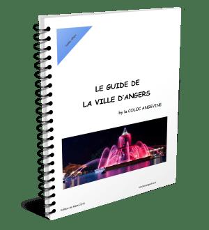 Couverture Guide de la Ville d'Angers by La COLOC ANGEVINE