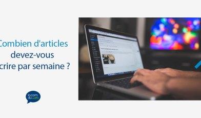 fréquence de publication article blog