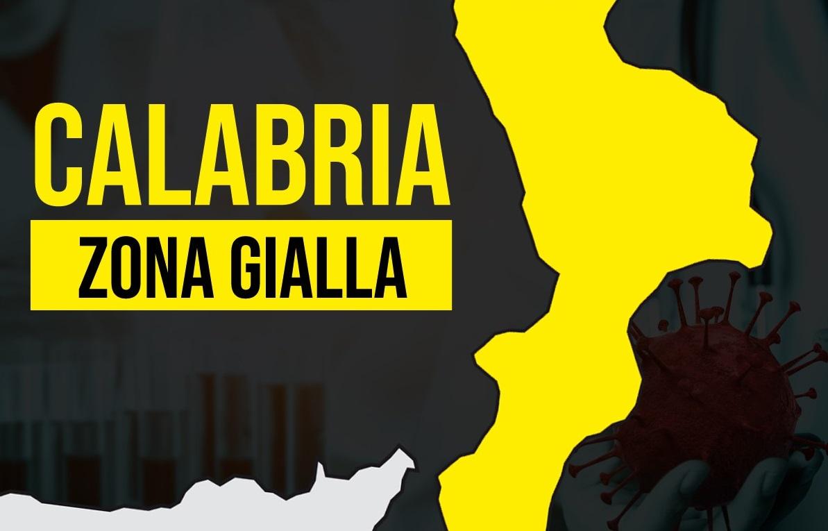 CALABRIA: CALO DEI CONTAGI MA RESTA ANCORA IN ZONA GIALLA. DAL 21 GIUGNO IN BIANCA?