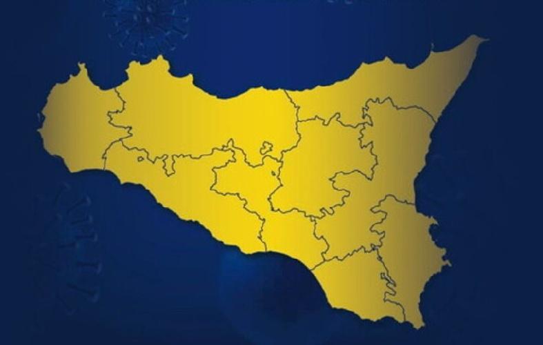 SICILIA: DAL 30 AGOSTO IN ZONA GIALLA. TORNA L'OBBLIGO DELLE MASCHERINE ALL'APERTO