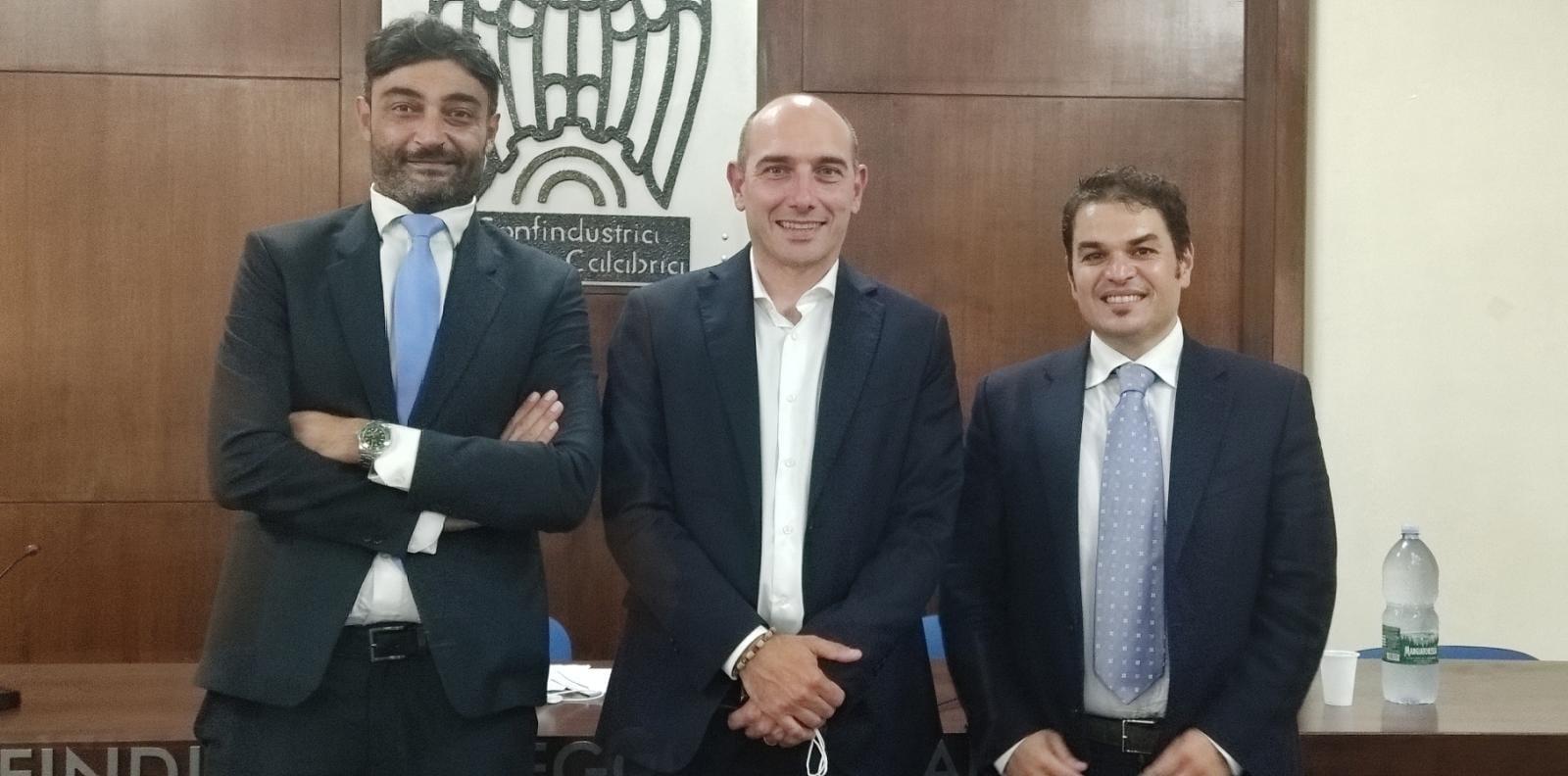 COMUNICATO STAMPA CONFINDUSTRIA RC: I giovani industriali reggini al vice Ministro Morelli: 'Calabria al bivio, serve una rivoluzione'