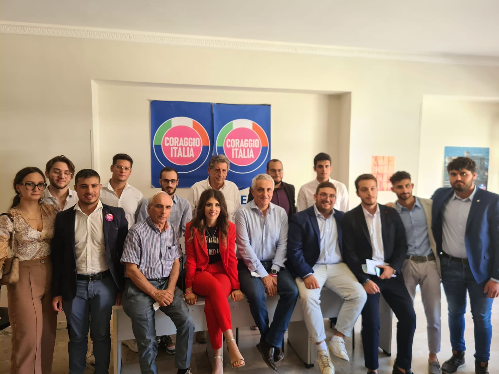 REGIONALI IN CALABRIA, QUAGLIARIELLO INCONTRA GIOVANI DI 'CORAGGIO ITALIA'