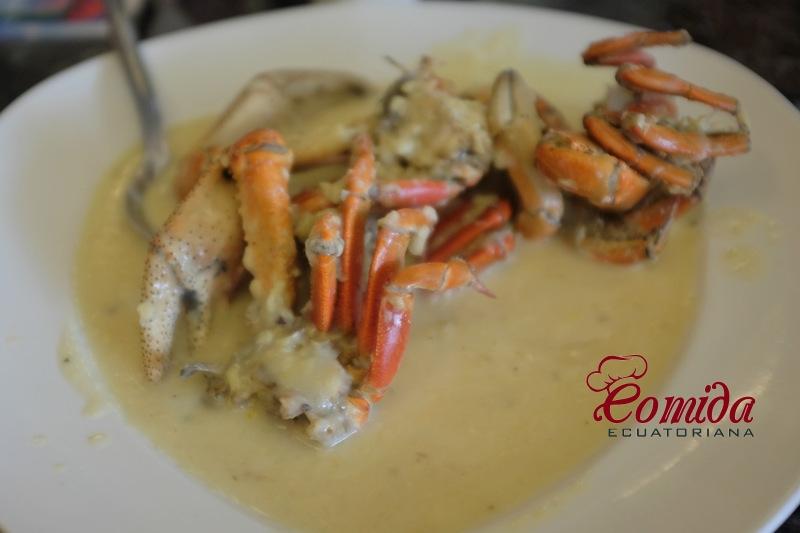 Cangrejos al ajillo  Recetas de Comida Ecuatoriana