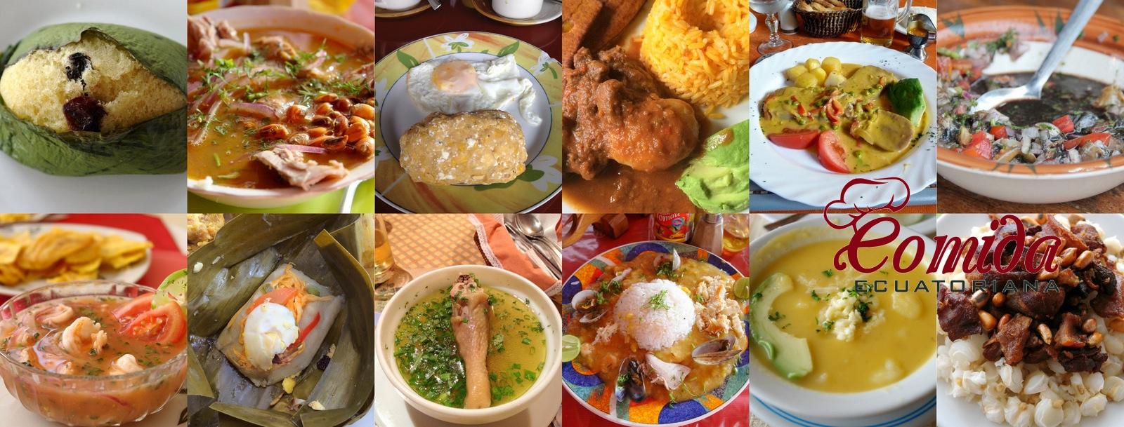 Recetas de Comida Ecuatoriana  Cocina del Ecuador