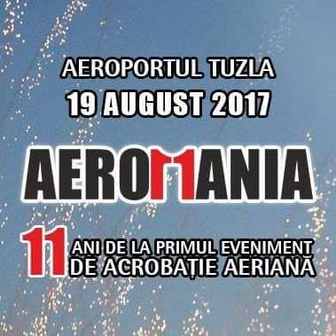 AEROMANIA 2017. SPECTACOL PE CER
