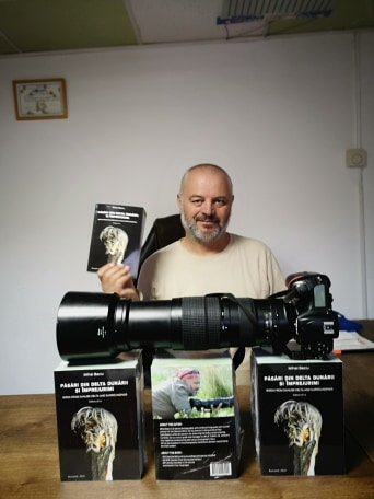 Lansare de carte, Mihai Baciu, cunoscut Ornitolog si Fotograf