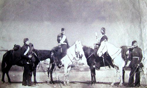 Szathmary Turkish cavalrymen 1854 1