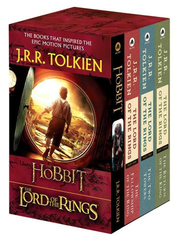 4 Lord Of The Rings Books Set