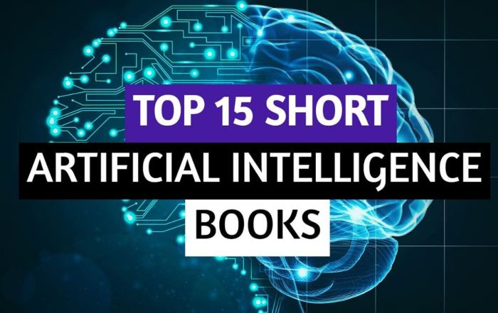 Top 15 Powerful Short Artificial Intelligence Books