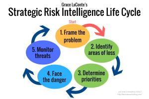 strategic risk, risk intelligence, 5-part model, problem solving