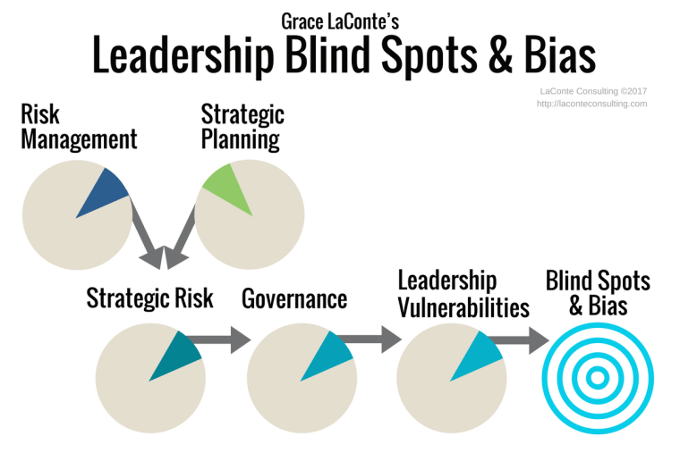 leadership blind spots, leadership, blind spots, bias, strategic planning, risk management, vulnerabilities