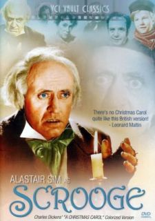 A Christmas Carol, Scrooge, Alastair Sim, 1951