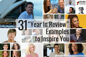 Year in review, review of year, year-end review, end-of-year review, yearly review, yearly evaluation, year-end evaluation, annual review, annual evaluation, retrospective evaluation, 31 examples, entrepreneurs