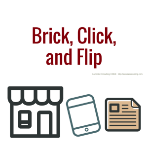 business model, brick click flip, brick-and-click, brick click and flip store, business, physical business, website, catalog, strategic growth, risk management