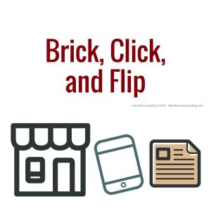business model, brick click flip, brick-and-click, brick click and flip store, business, physical business, website, catalog, strategic growth, risk management