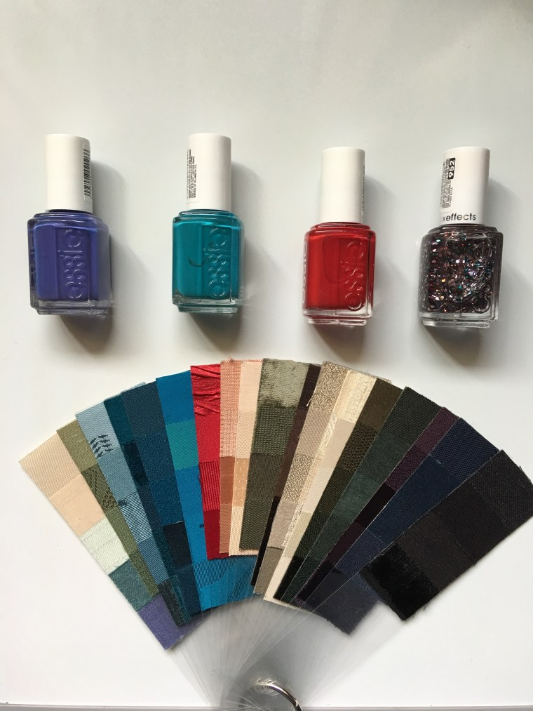 color theory, color swatches, color palette, color fan, color consult, fingernail polish, Essie polish, ColorStyle, Joy Overstreet