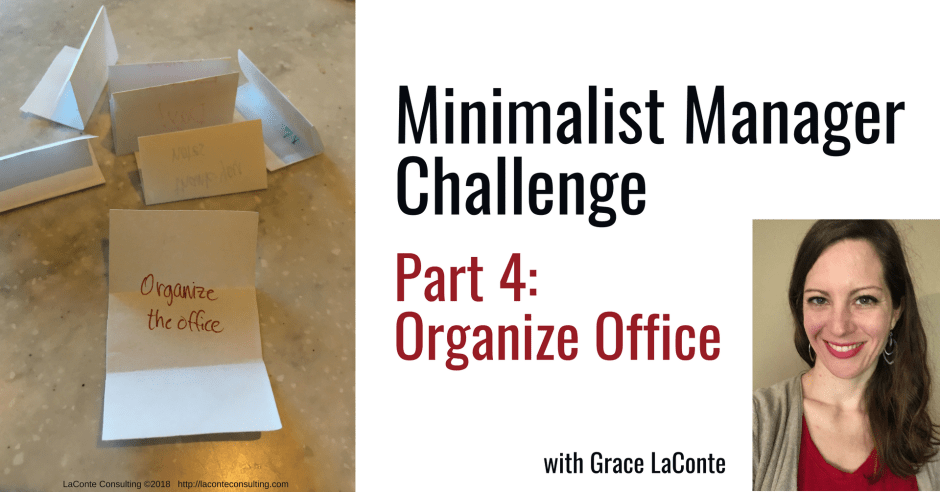 minimalist manager, the minimalist manager, minimalist challenge, management, organizing, strategic planning, strategic risk