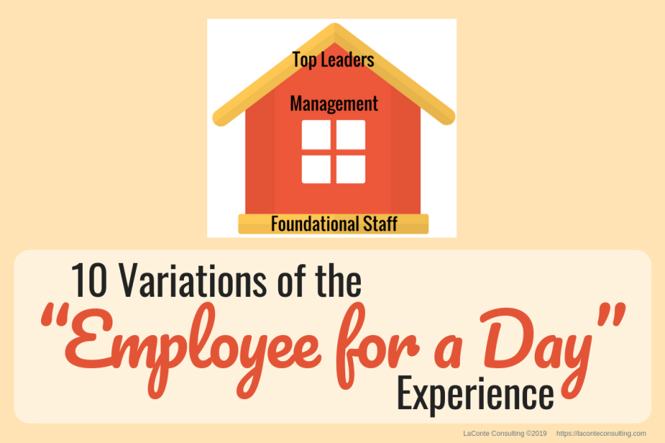Employee for a Day, employee, foundational staff, managing employees, management, start