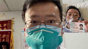 Li Wenliang, Dr. Li Wenliang, COVID-19 whistleblower