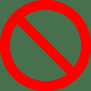 closed, shut down, do not enter, prohibited, vietato, business closed, business shut down, business failure