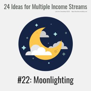 multiple income, multiple income streams, moonlighting, profit, profit margins, income streams, profit streams, strategic risk, strategic marketing, marketing