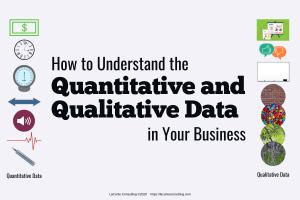quantitative data, qualitative data, business data, business analysis, data analysis, evaluating data, strategic risk, strategic analysis