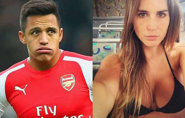 ¡Un goleador! Descubren a Alexis Sánchez de carrete junto a Francisca Undurraga
