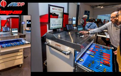 Les magasins industriels déportés et connectés d'AMDP&Snap-on Tools