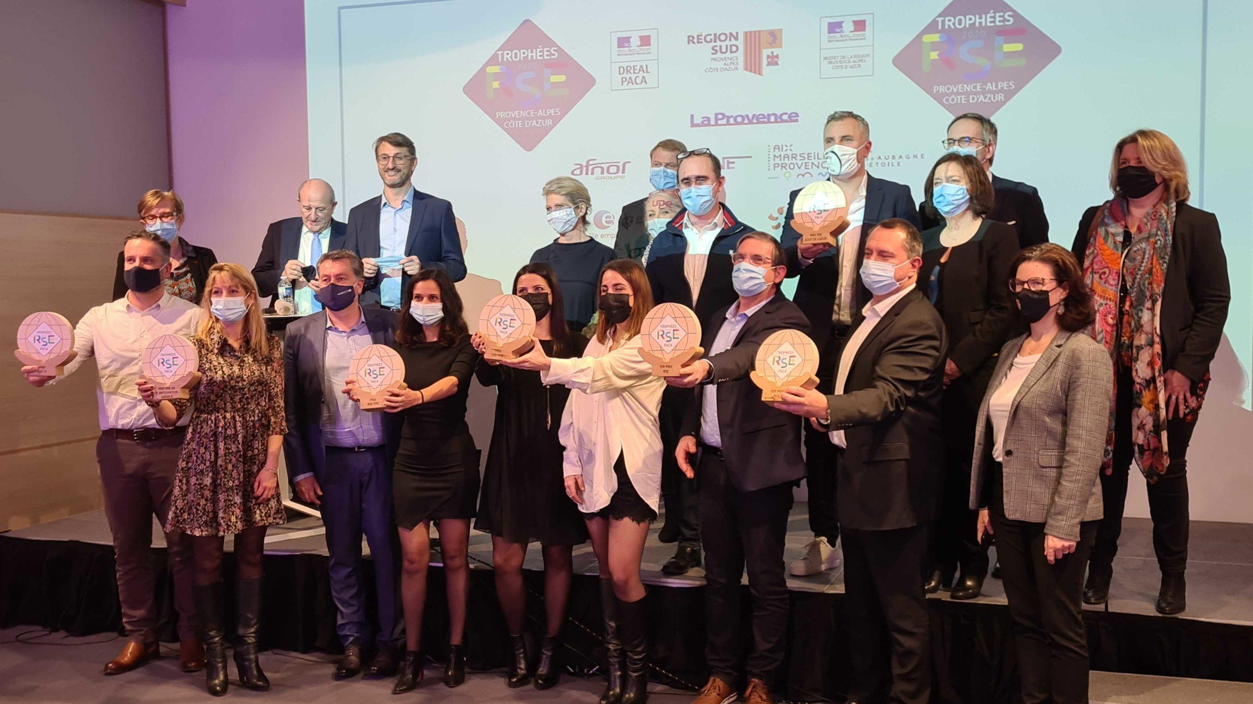 Retour sur les Trophées RSE PACA édition 2020