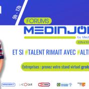 Le forum Medinjob 2021, 100% alternance et 100% à distance !