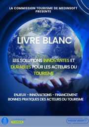 Livre Blanc - Bonne pratique des acteurs du tourisme - Medinsoft