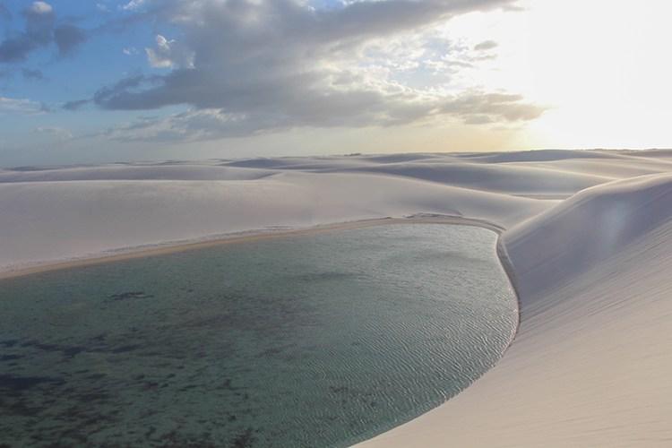sucuruju lencois maranhenses lagune